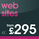 web sites from £295